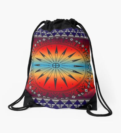 Morning Sky Drawstring Bag