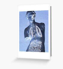 X ray Greeting Card