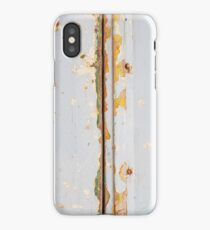 Shabby Chic Painted Wood iPhone Case/Skin