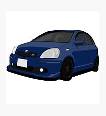 Toyota Vitz RS Turbo Photographic Print