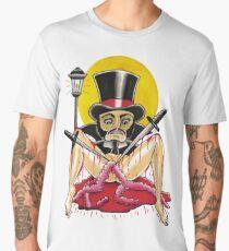 JACK THE RIPPER on white - Art By Kev G Men's Premium T-Shirt