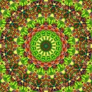 Mandala Mehndi Style G499 by MEDUSA GraphicART