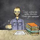 Teacher coffee 21 by cardwellandink