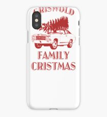 Christmas Vacation Griswold iPhone Case