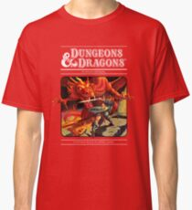 Dungeons and Dragons Red Box (Remastered) Classic T-Shirt