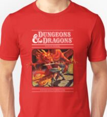 Dungeons and Dragons Red Box (Remastered) Unisex T-Shirt
