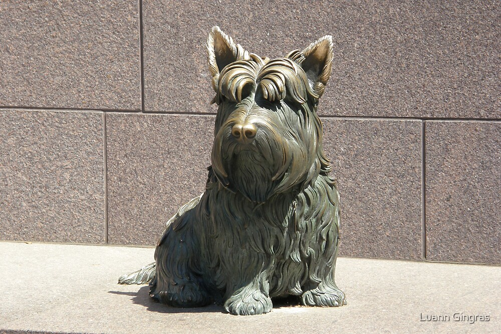 FDR Scottie Dog by Luann Gingras