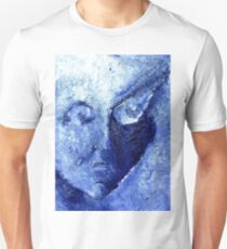 Expressionistic Face Unisex T-Shirt