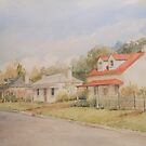Perth Cottages by Muriel Sluce by Wendy Dyer