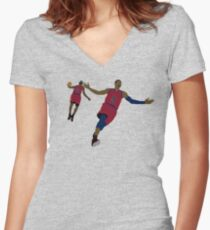 Reunited 1 Women's Fitted V-Neck T-Shirt