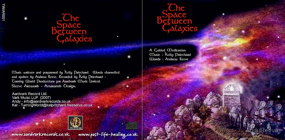 CD Sleeve -Galaxy by AndyReeve