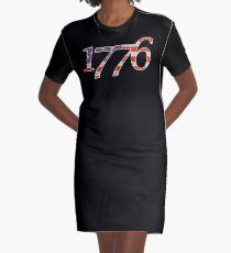 1776 LC004 Graphic T-Shirt Dress