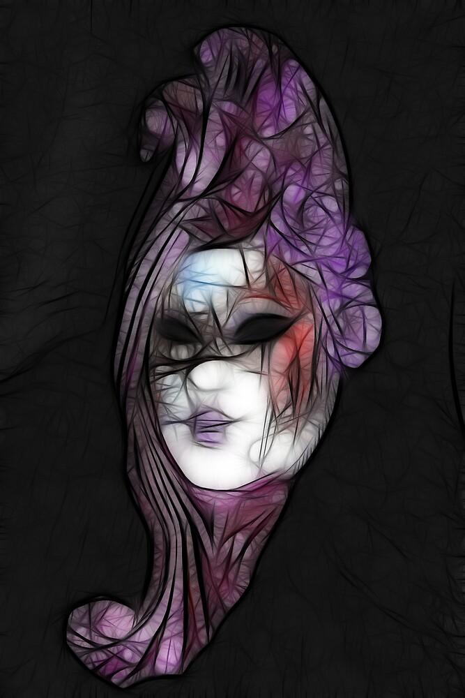 Facial Fractal by Lisa Kent