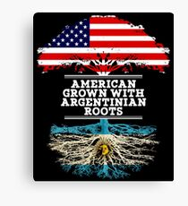 American Grown With Argentinian Roots Argentina T-Shirt Sweater Hoodie Iphone Samsung Phone Case Coffee Mug Tablet Case Gift Canvas Print
