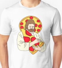 Pizza Jesus Unisex T-Shirt