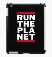 Run The Planet iPad Case/Skin