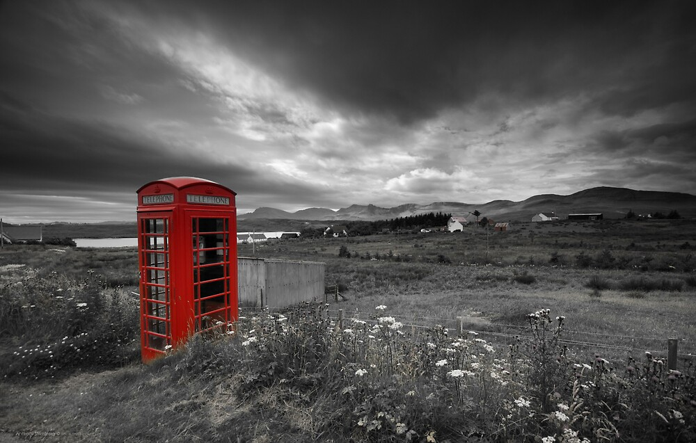 Long distance call by Andreas Stridsberg