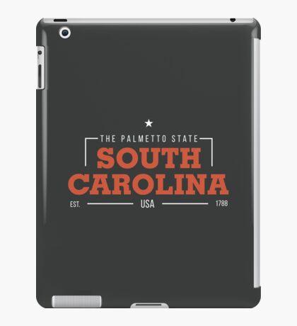 South Carolina American States Badge Design iPad Case/Skin