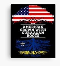 Gift For Curaaoan  American Grown With Curaaoan Roots Curacao T-Shirt Sweater Hoodie Iphone Samsung Phone Case Coffee Mug Tablet Case Gift Canvas Print