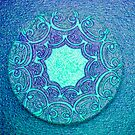 Coaster Art - TURQUOISE by Aritheeagle