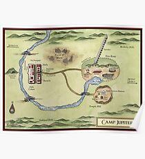 Camp Jupiter Map Poster
