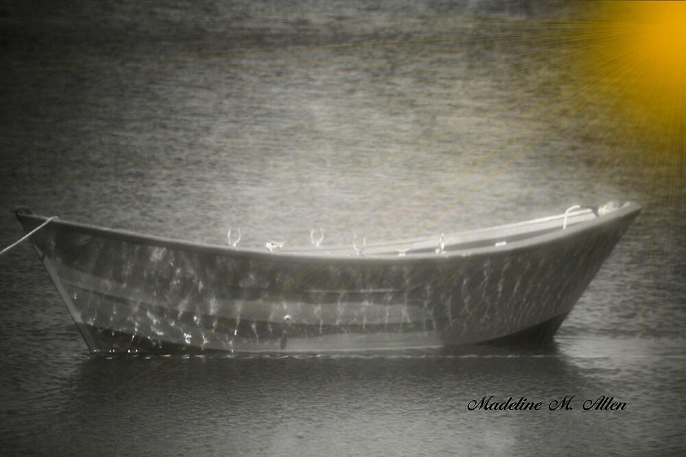 A SHIMMERING LIGHT by Madeline M  Allen