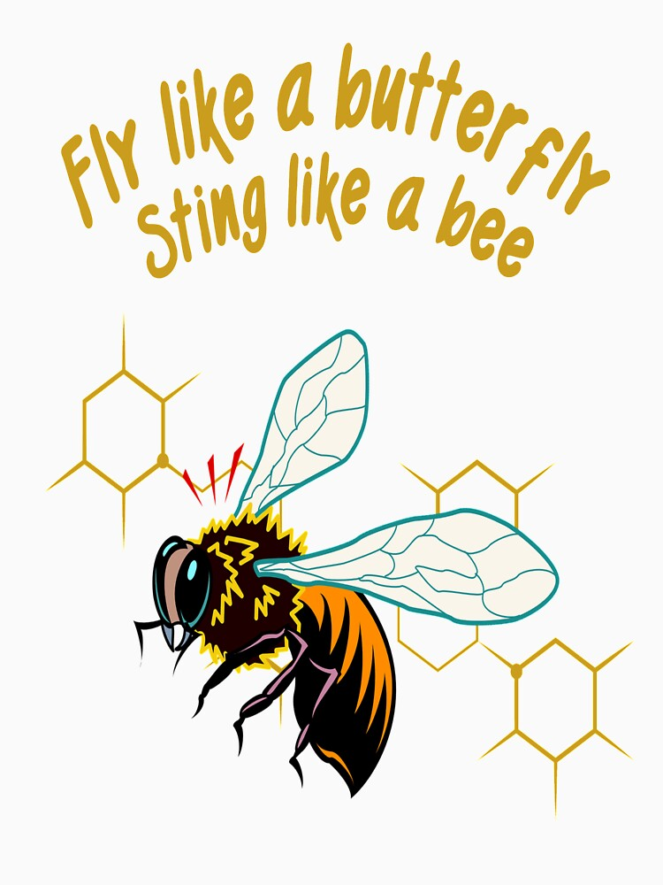 Fly like a butterfly sting like a bee by culturageekstor