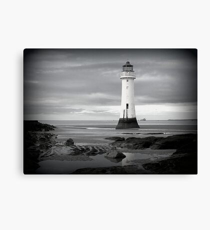 Perch Rock Lighthouse.  Canvas Print