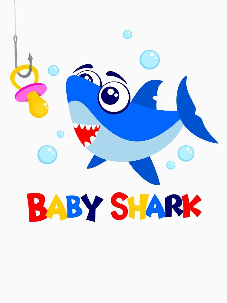 Baby shark unisex t shirt by mistergoodiez redbubble baby shark by mistergoodiez stopboris Choice Image
