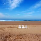 Empty Beach by travellingtwo