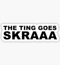 Big Shaq - Roadman Shaq - SKRAAA Sticker