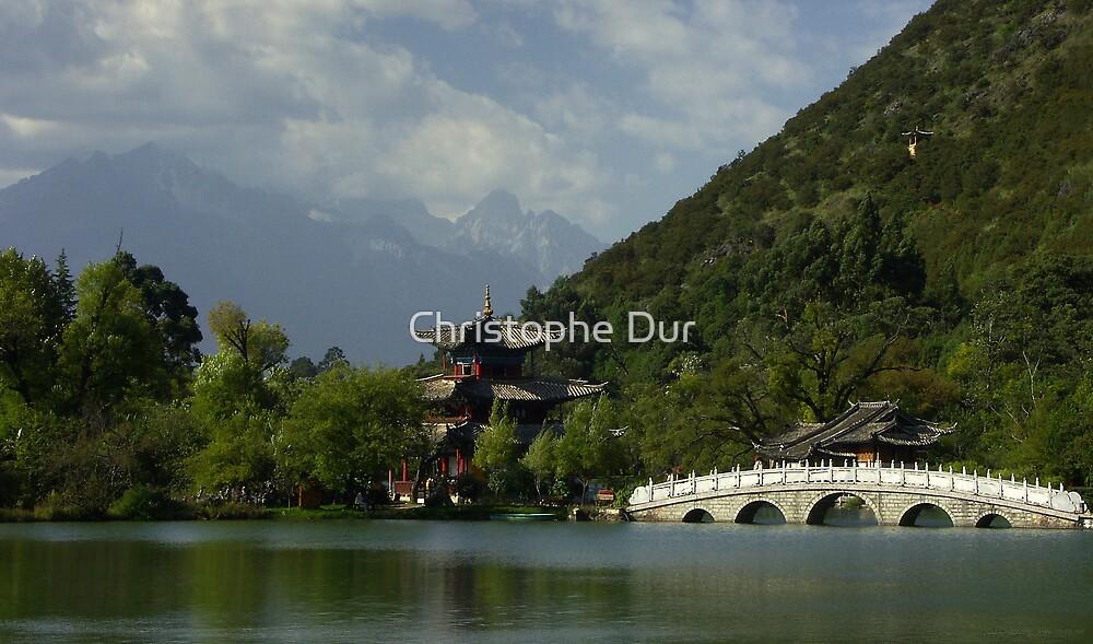 Lijiang Lake - China by Christophe Dur