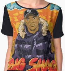 Big Shaq - Roadman Shaq - Man's Not Hot Women's Chiffon Top