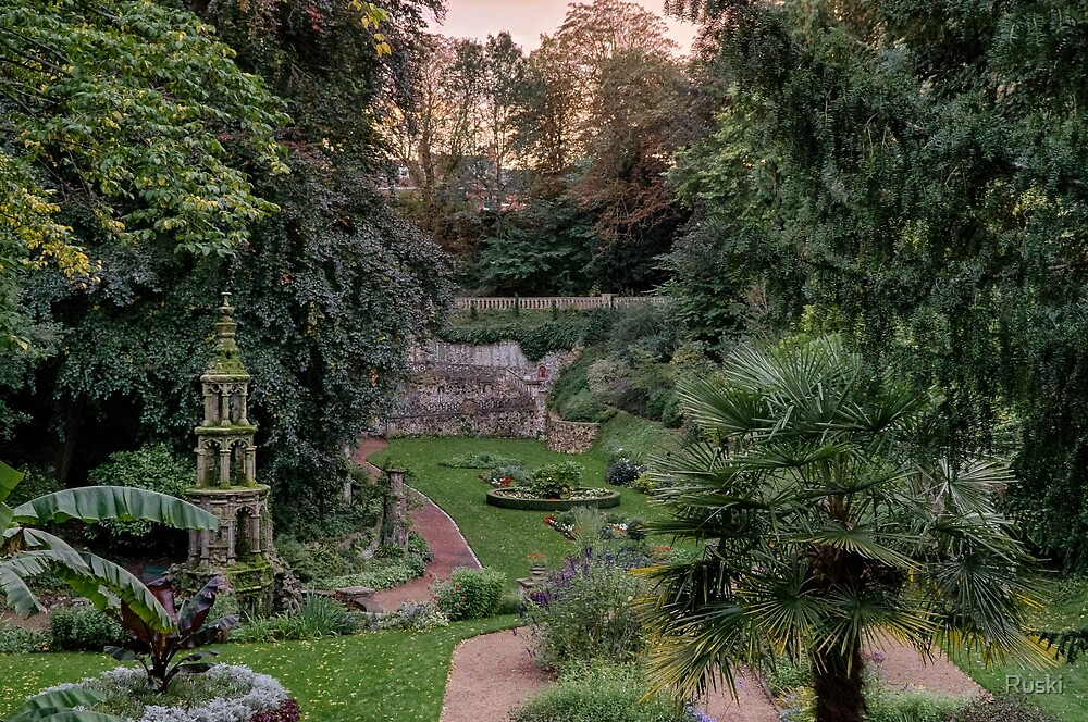 Plantation Gardens, Norwich by Ruski