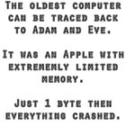 The oldest computer joke by puzzledcellist