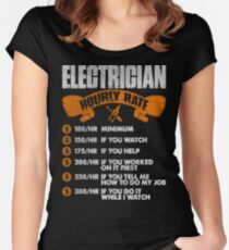 Electrician Quotes | Electrician Quotes Women S T Shirts Tops Redbubble