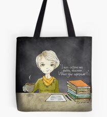 Teacher Coffee 3 Tote Bag
