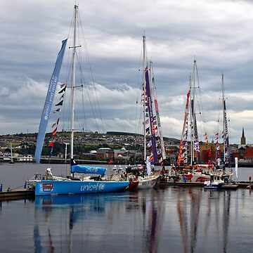 Summer on the River Foyle by woodentop