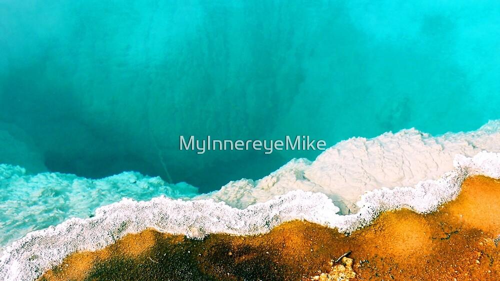 #549  Geothermal Pool In Yellowstone #2 by MyInnereyeMike