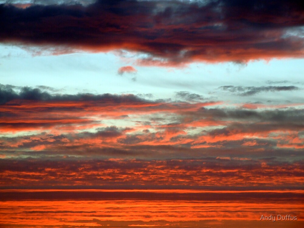 Sunset over Shetland.....tonight by Andy Duffus