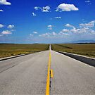Just up ahead by Patrick Czaplewski