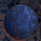 Coaster Art - Blue Vine by Aritheeagle