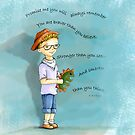 LITTLE BOY DINOSAUR by cardwellandink