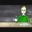 Teacher coffee 19 by cardwellandink