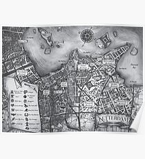 Ketterdam Map Poster