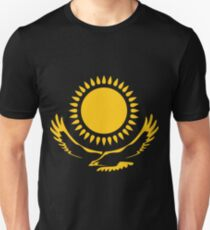 The Golden Steppe Eagle of Kazakhstan T-Shirt