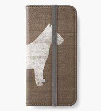 Bull Terrier Silhouette(s) iPhone Wallet/Case/Skin
