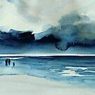 stiff breeze by Claudia Dingle