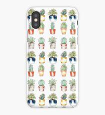 Trendy Cactus Plants  iPhone Case/Skin