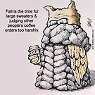 Sweater Owl by Byron  McBride